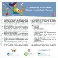 bases II concurso nacional de cuento ilustrado - Plan Nacional de ...