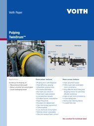 Pulping TwinDrum™ - Voith
