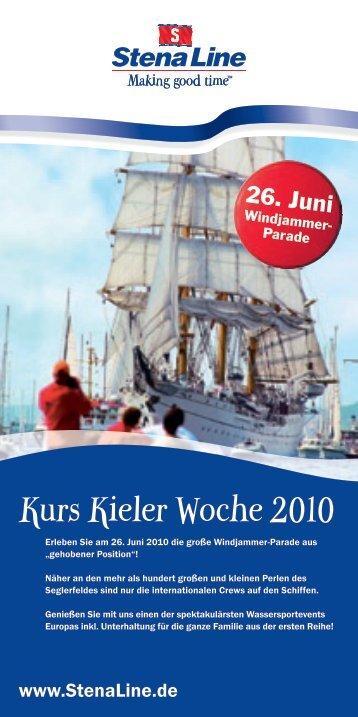 Kurs Kieler Woche 2010