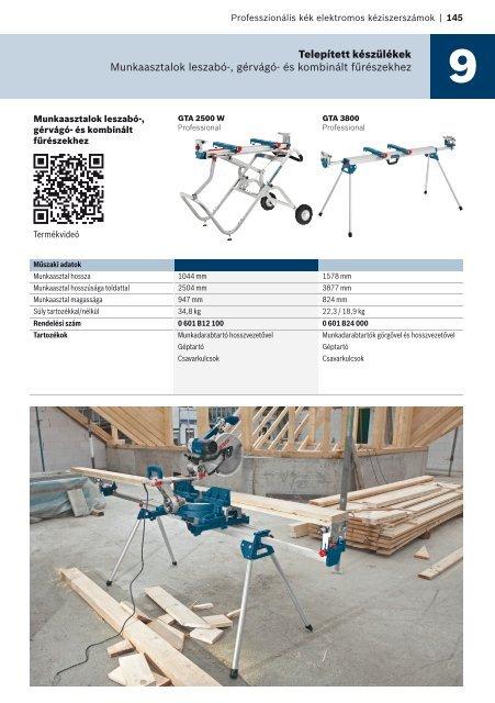 Telepített készülékek - Bosch