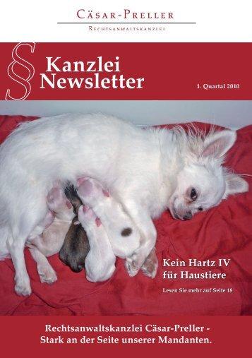 Newsletter Kanzlei - Rechtsanwalt Teneriffa