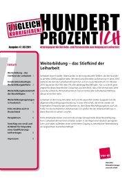7 Weiterbildung – das Stiefkind der Leiharbeit - Netzwerk ...