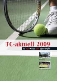 Kopie von TC-aktuell 2009 version14.qxp - TC Spaichingen