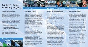 Eco-Drive® – l'unica tecnica di guida giusta - Rallye21