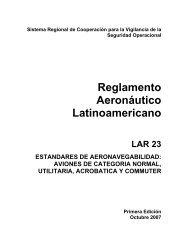 Reglamento Aeronáutico Latinoamericano - ICAO