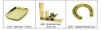 3116 Wännchen 11x7cm 2500 Briefhalter Eule 12 5x11cm 2220 ...