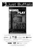 2009 (pdf) - Just Buffalo Literary Center - Page 3