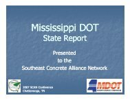 Mississippi State Report