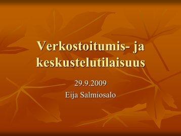 Eija Salmiosalo - Kansalaisareena