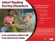 Infant Feeding in Emergencies - Breastfeeding Made Simple
