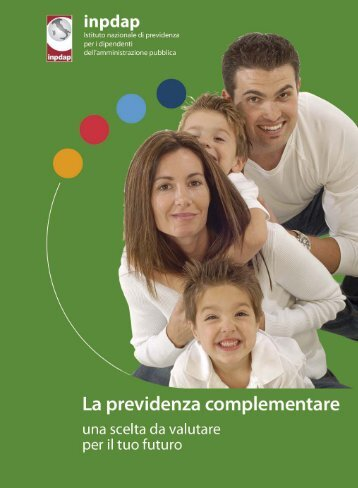 La previdenza complementare - Inpdap