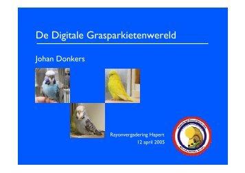 De Digitale Grasparkietenwereld