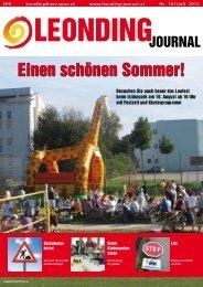 Leonding-Journal - SPÖ