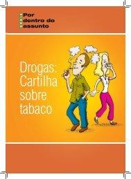 Drogas: Cartilha sobre tabaco - Ministério da Justiça
