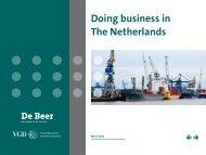 Doing business in The Netherlands - De Beer Accountants en ...