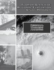 FLORIDA STATEwIDE REGIONAL EVACUATION STUDy PROGRAm