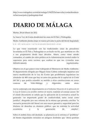 DIARIO DE MÁLAGA - Plataforma Nacional de Afectados por la Ley ...