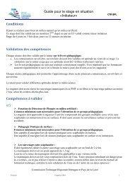 stage en situation - Commission technique régionale Bretagne et ...