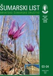 ŠUMARSKI LIST 3-4/2012 - HŠD