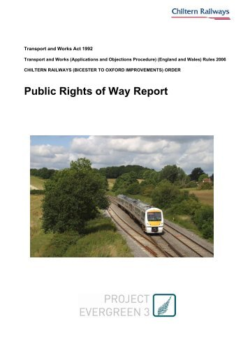 Public Rights of Way Report - Chiltern Evergreen3