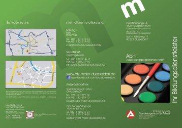 flyer downloaden - Berufsbildungs- und Technologiezentrum der ...