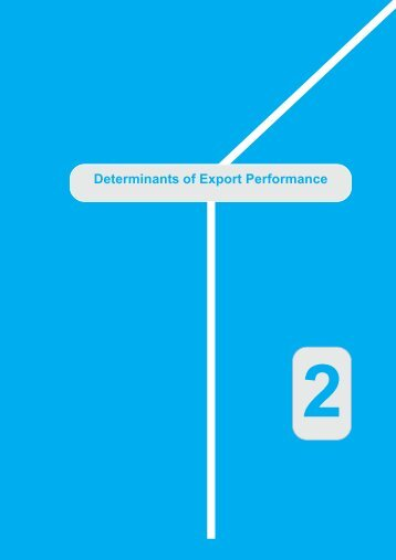 Determinants of Export Performance - unctad