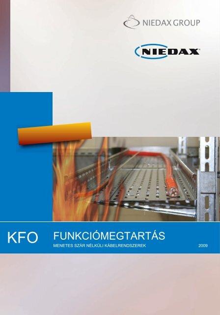 Funkciómegtartó, tűzálló (KFO) kábeltálca menetes szár nélkül