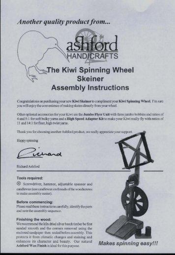 Kiwi Skeiner - Ashford Handicrafts