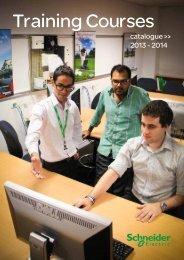 Training catalogue PDF 1.47MB - Schneider Electric