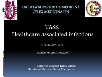 Healthcare associated infections - celex esm