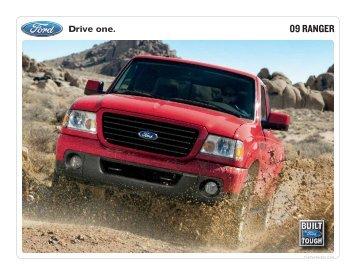 09 RANGER - Thoroughbred Ford