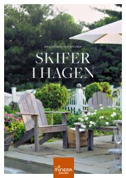 skifer i hagen - Minera Skifer AS