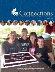 Connections - Lutheran Social Services of Wisconsin and Upper ...