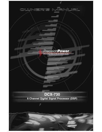 DCX-730 - Precision Power