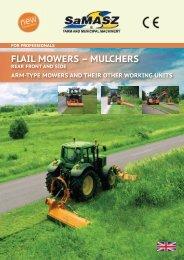 FLAIL MOWERS – MULCHERS - SaMASZ