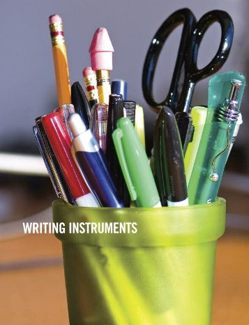 WRITING INSTRUMENTS - MDA