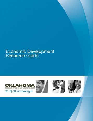 Economic Development Resource Guide - Oklahoma Department of ...
