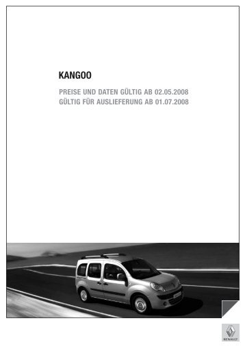 KANGOO - Renault