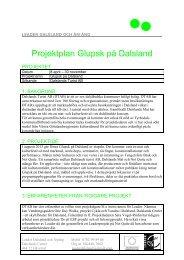 Befolkningsunderlag i LAG-området 2007-12-31 - Dalslands Turist AB