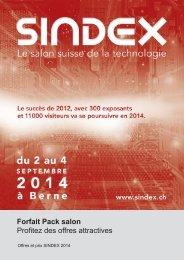 Pack salon (Flyer) - SINDEX