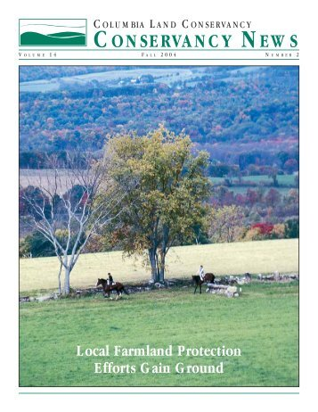 Fall 2004 - Columbia Land Conservancy