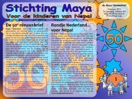 Februari - Stichting Maya