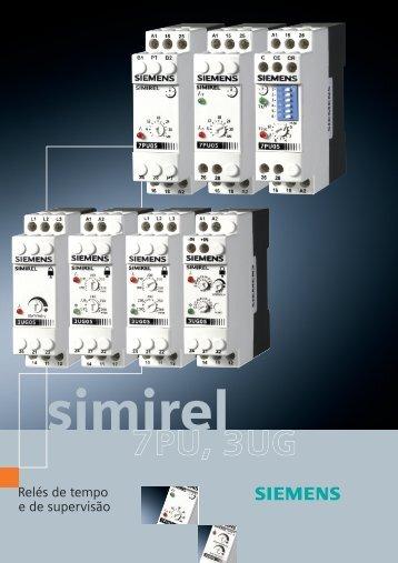 Rele de tempo e supervisão Simirel - Elétrica Zata
