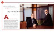 Big Plans Up North - American Business Media