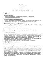programmazione VA 2011-2012 - G. Veronese