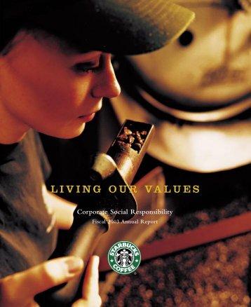 Cover for pdf - Starbucks