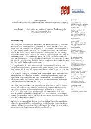 BSI - BFW Bundesverband Freier Immobilien