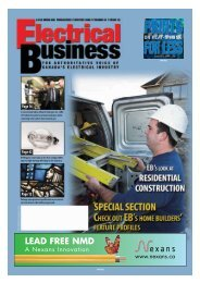 Home Builders' Showcase - Electrical Business Magazine