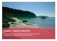 Section 2 - Statutory Statements - Pittwater Council