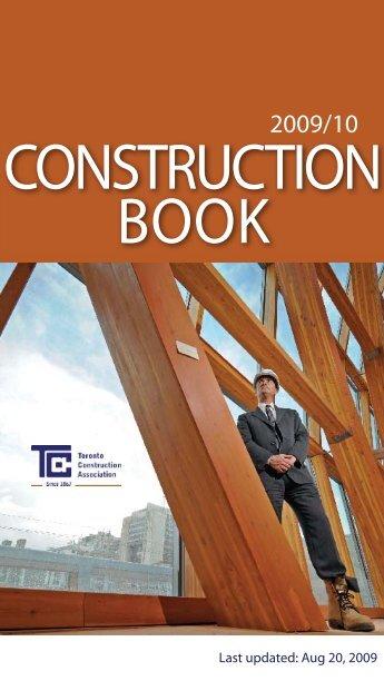 Classifieds fall 2009 Update-1.indd - Toronto Construction Association
